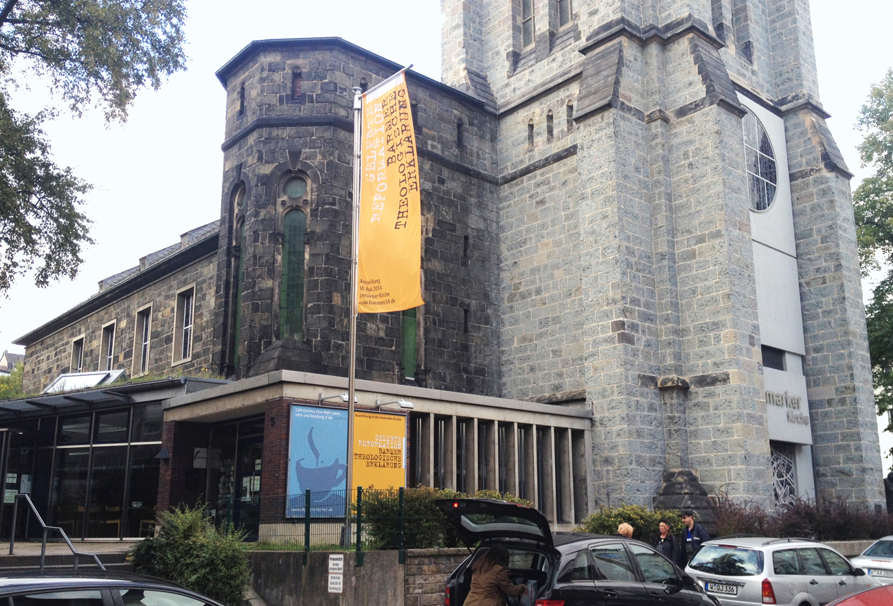 Ausstellung der Barmer theologischen Erklärung eröffnet